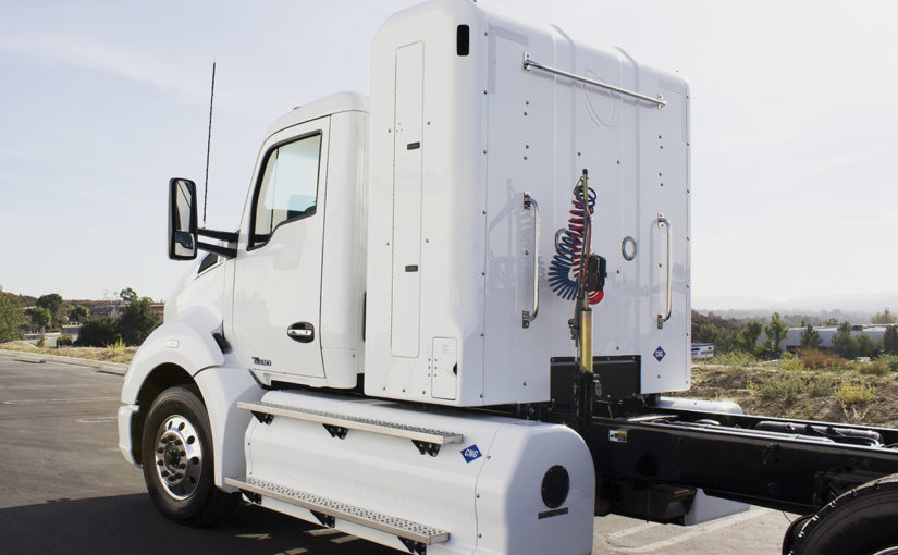 Back-of-Cab CNG system